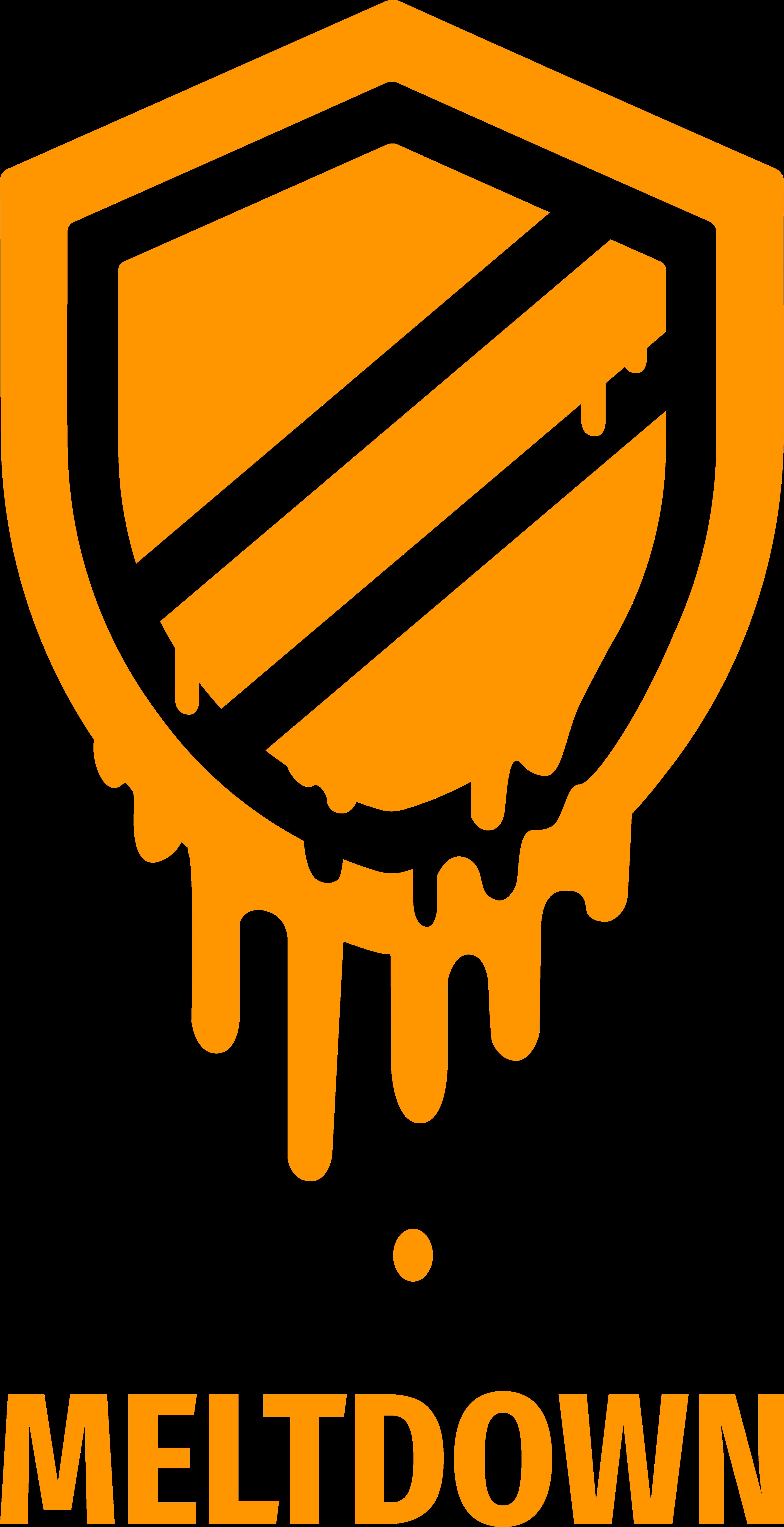 Meltdown logo, free to use under CC0 (see https://meltdownattack.com/ for details).